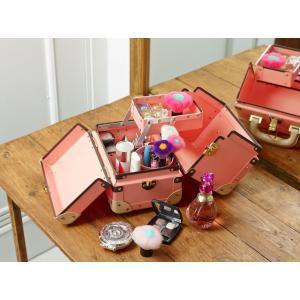 タイムボイジャー コレクションバッグS ピンク コスメボックス メイクボックス 収納ボックス|adachishiki