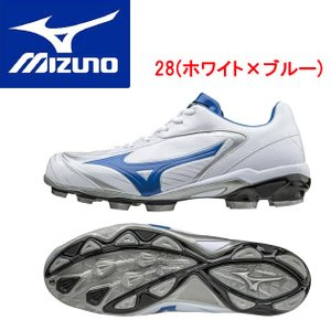 MIZUNO(ミズノ) セレクトナイン 11GP172028 カラー:28.ホワイト×ブルー|adachiundouguten