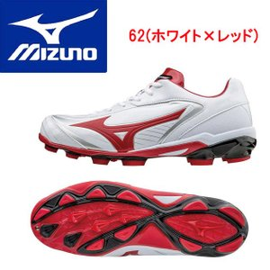 MIZUNO(ミズノ) セレクトナイン 11GP172062 カラー:62.ホワイト×レッド|adachiundouguten