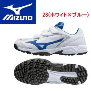 MIZUNO(ミズノ) セレクトナイントレーナー CR 11GT172228 カラー:28.ホワイト×ブルー|adachiundouguten