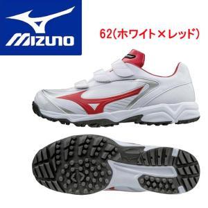 MIZUNO(ミズノ) セレクトナイントレーナー CR 11GT172262 カラー:62.ホワイト×レッド|adachiundouguten