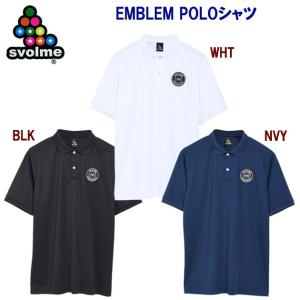 SVOLME(スボルメ) 21春夏NEW EMBLEM POLOシャツ(メンズ:ポロシャツ) 121...