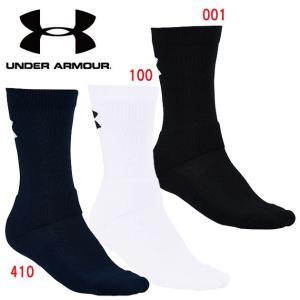 UNDER ARMOUR(アンダーアーマー) バスケットボールクルーソックス 1295598|adachiundouguten