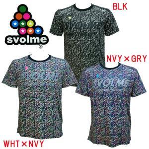SVOLME(スボルメ) モザイクドットランシャツ 173-40400 決算処分市|adachiundouguten