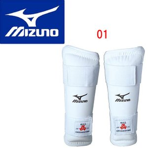 MIZUNO(ミズノ) シンガード 全国高校体育連盟空手道部指定品(左右1組) 23JHA601|adachiundouguten