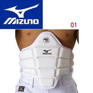MIZUNO(ミズノ) 胴プロテクター(全日本空手道連盟検定品) 23JHA710|adachiundouguten