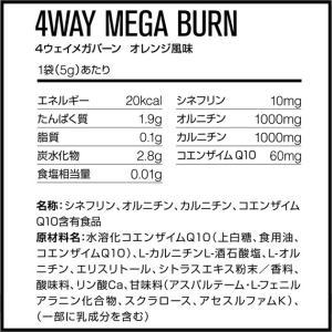 DNS(ディーエヌエス) 4WAY MEGA BURN(4ウェイメガバーン) オレンジ風味 14袋入|adachiundouguten|02