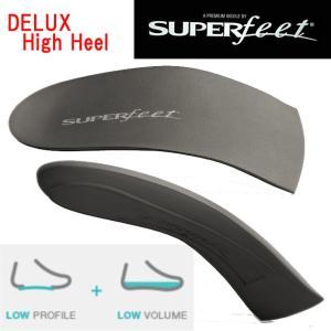 SUPERfeet(スーパーフィート) ドレスフィット・デラックスシリーズ デラックス レディース ハイヒール DELUX Women's High-Heel|adachiundouguten