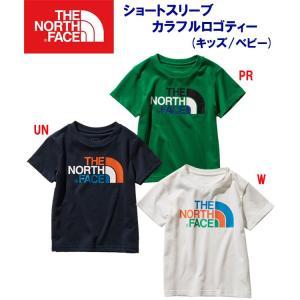 THE NORTH FACE(ノースフェイス) ショートスリーブカラフルロゴティー(ジュニア:Tシャツ) NTJ31991 ジュニア・キッズ adachiundouguten
