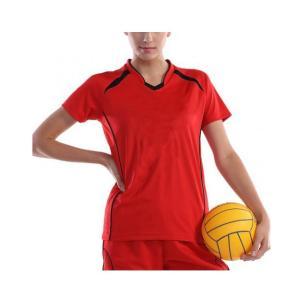 wundou(ウンドウ) ウィメンズバレーボールシャツ/S-XXLサイズ(レディース:バレーウェア) P1620 adachiundouguten 03
