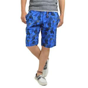 ハーフ ショートパンツ メンズ ハーフパンツ カモフラ 迷彩 花柄 短パン 半ズボン|adamas