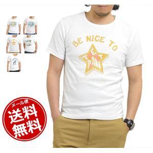Tシャツ メンズ 半袖 プリント サーフ 半袖Tシャツ カッ...