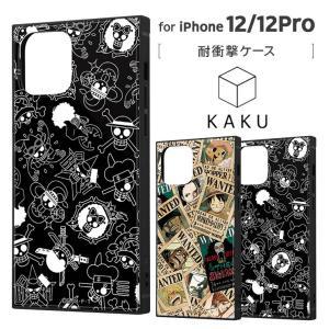 iPhone 12/12 Pro 2020秋 6.1inch ワンピース かっこいい 耐衝撃ハイブリッドケース KAKU TPU アクリルパネル イングレム IQ-OP27K3TB-OPの商品画像|ナビ