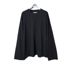 "Jieda ジエダ ""FRUIT OF THE LOOM"" ZIP L/S (BLACK) フルーツオブザルーム ジップロンT Tシャツ|addictive"