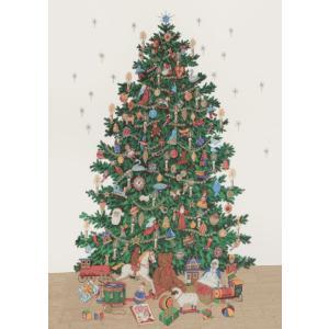 ポスター クリスマス イタリア I.F.I ポスター 50×70 ALBERO DI NATALE CR040 クリスマスツリー インテリア adesso-nip