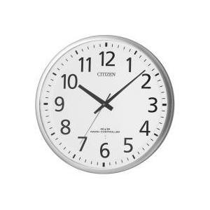 大型 壁掛け時計 電波時計 8MY465-019 シチズン スペイシーM465|adesso