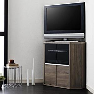 薄型 テレビ台 コーナー テレビボード venus ミドルサイズ 薄型32型まで対応|adesso