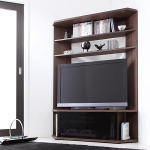 ハイタイプ コーナーテレビボード 薄型 テレビ台 Nova|adesso