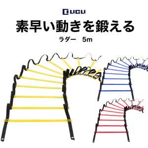LICLI ラダー トレーニング 野球 サッカー 5m 9枚  収納袋付き 3カラー|adew