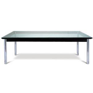 ル・コルビジェ LC-10 ガラステーブル 120cm幅 コーヒーテーブル  CT-5079B|adhoc-style