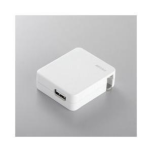 BUFFALO USB充電対応ACアダプタ(USB 1ポート) adhoc