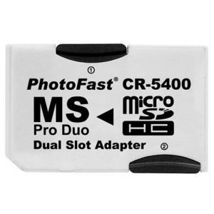 【メール便対応:送料210円】PhotoFast MS ProDuoデュアルアダプター CR-5400|adhoc