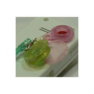 Jelly Lens ジェリーレンズ ハート型フレーム/グリーンフィルター おもしろレンズ 携帯電話ストラップ|adhoc