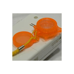 Jelly Lens 携帯電話等の小型レンズに取り付ける特殊なレンズ ジェリーレンズ キラキラ光る おもしろレンズ 携帯電話ストラップ|adhoc