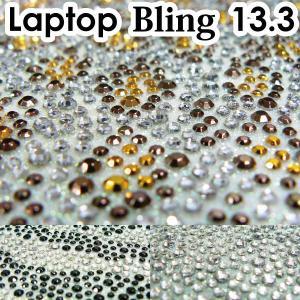 13.3型 ラインストーンシート  /デコレーションPC/デコグッズ/デコパーツ/ノートPCカバー/デコ電・スマホ/|adhoc