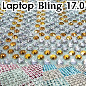 17型 ラインストーンシート  /デコレーションPC/デコグッズ/デコパーツ/ノートPCカバー/デコ電・スマホ/|adhoc