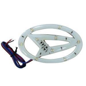 (メール便(送料210円)対応)LEDでエンブレムが光る!LEDエンブレム発光シート ダイハツ車用|adhoc