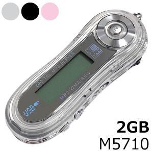 BTL 【2GB】FMラジオ付きデジタルMP3プレーヤー(オールファイン)M5710-2GB|adhoc