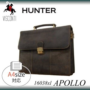 APOLLO 16038xl [VISCONTI]  レザービジネスバッグ ブリーフケース/本革/A4/通勤|adhoc