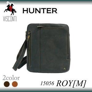 ROY[M] 15056 [VISCONTI] 本革/音楽プレイヤー対応/レザーショルダーバッグ|adhoc