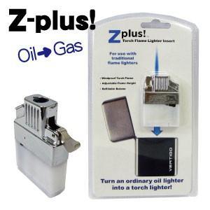 (メール便210円対応)Z-plus 入れ替えるだけでZIPPOをターボライターに!|adhoc