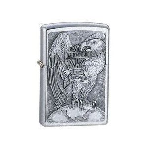 ZIPPO Harley-Davidson MADE IN USA EAGLE & GLOBE 200HD.H231|adhoc
