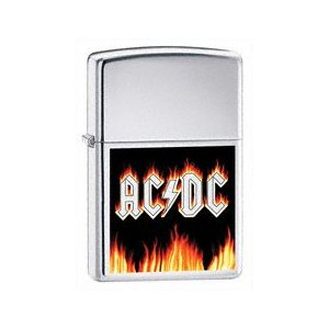 ZIPPO  AC/DC Flames - 24277|adhoc