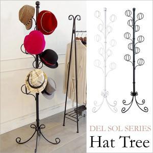 商品名 DEL SOL(デルソル) 帽子ツリー サイズ 幅40×奥行き40×高さ170cm 材質 ス...