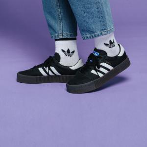 全品ポイント15倍 07/19 17:00〜07/22 16:59 返品可 送料無料 アディダス公式 シューズ スニーカー adidas サンバ ローズ W / SAMBAROSE W|adidas