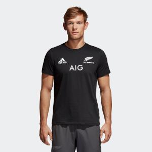 セール価格 アディダス公式 ウェア トップス adidas オールブラックス 1STレプリカ Tシャツ|adidas