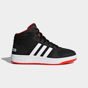 返品可 アディダス公式 シューズ スポーツシューズ adidas ADIHOOPS MID 2.0 K|adidas