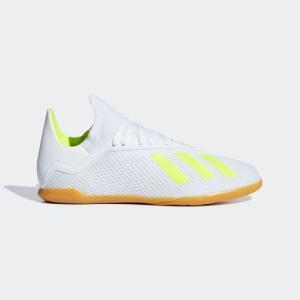全品送料無料! 08/14 17:00〜08/22 16:59 セール価格 アディダス公式 シューズ スポーツシューズ adidas エックス 18.3 IN J / フットサル用 / インドア用|adidas