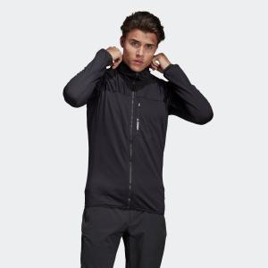 返品可 送料無料 アディダス公式 ウェア トップス adidas トレースロッカー フリースフード付きジャケット|adidas