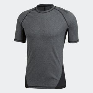 返品可 アディダス公式 ウェア トップス adidas アルファスキン TEAM ヘザーショートスリーブTシャツ|adidas