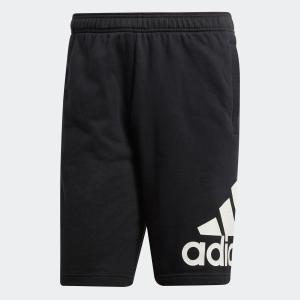 セール価格 アディダス公式 ウェア ボトムス adidas M ESSENTIALS ビッグロゴ スウェットショーツ (裏毛)|adidas