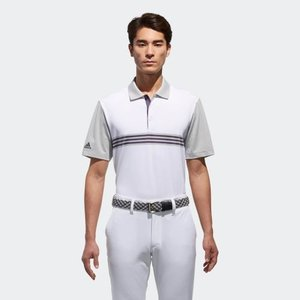 アウトレット価格 アディダス公式 ウェア トップス adidas アルティメット365 スリーストライプ 半袖 ポロ 【ゴルフ】 adidas