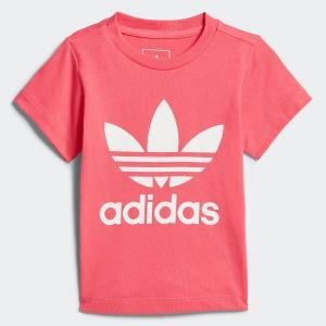 アディダス公式 トップス 半袖 adidas ベビー用 トレフォイル半袖Tシャツ [アディカラー/adicolor]...