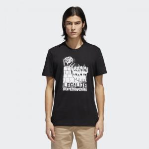 全品ポイント15倍 11/19 17:00〜11/21 10:59 アウトレット価格 アディダス公式 トップス 半袖 adidas LEGALIZE Tシャツ