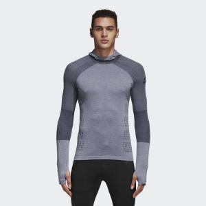 アウトレット価格 アディダス公式 ウェア トップス adidas UltraCLIMAHEAT長袖フード付シャツM|adidas