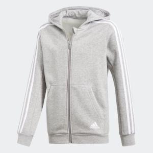 アウトレット価格 アディダス公式 ウェア トップス adidas B ESS 3ストライプス スウェットフルジップパーカー (裏起毛)|adidas